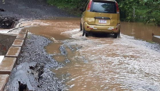 Nueva Guinea, fuertes lluvias