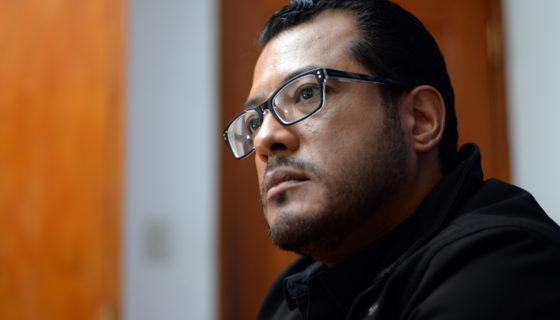 Félix Maradiaga, emprendedor nicaragüense. LA PRENSA / Manuel Esquivel.