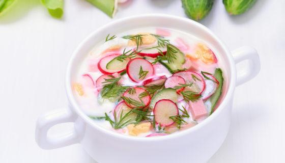 Sopa de rabanitos