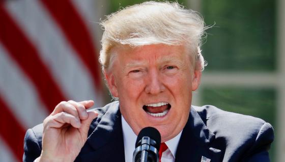 Donald Trump, presidente de Estados Unidos. LA PRENSA / AP Photo/Pablo Martinez Monsivais