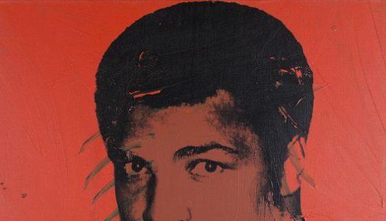 """Muhammad Ali de Andy Warhol, una de las obras pertenecientes a la exposición """"El alma de una nación: el arte en la era del 'black power'"""". LAPRENSA/EFE/ Tate Modern de Londres."""