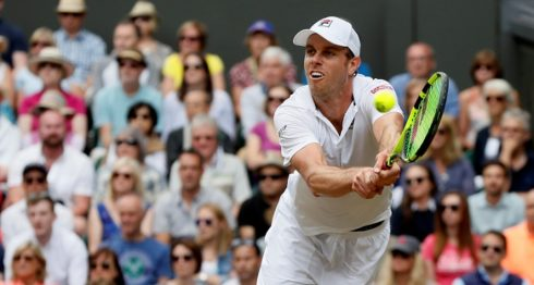 El estadounidense Sam Querrey venció a Andy Murray, negándole la oportunidad de repetir el título de Wimbledon. LA PRENSA/AP/Kirsty Wigglesworth