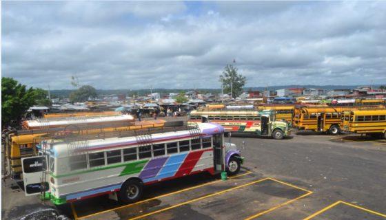 Masaya, terminal de buses