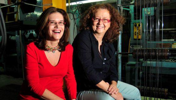 Las cineastas Martha Clarissa Hernández, María José Álvarez y otros cineastas crearon la memoria visual de Incine, en la década de los ochenta.LAPRENSA/ARCHIVO