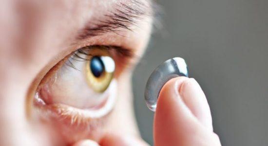 lentes de contacto,