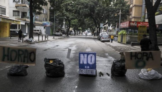 Caracas, Venezuela, hora cero,