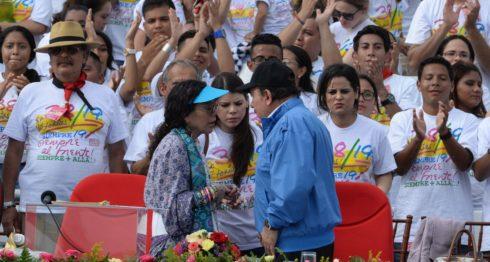 19 dejulio, Daniel Ortega, Rosario Murillo