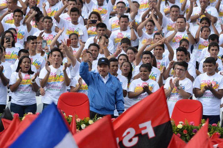 19 de julio, Daniel Ortega, FSLN