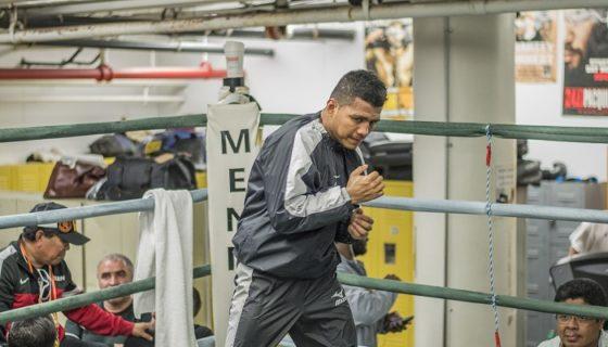 El tetracampeón mundial nicaragüense Román González trabaja intensamente en Torkio, Japón, bajo el mando de dos entrenadores nipones. LA PRENSA/ARCHIVO/OSCAR NAVARRETE