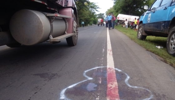 Chinandega, accidentes de tránsito