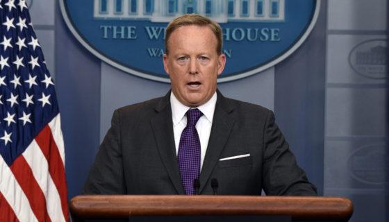 Sean Spicer, Estados Unidos, Casa Blanca, Donald Trump,