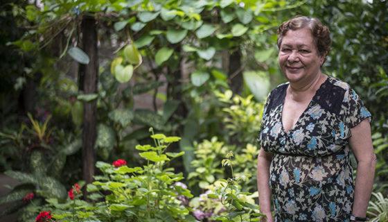 Doraldina Zeledón tiene casi 20 años de dedicarse a luchar contra la contaminación acústica.