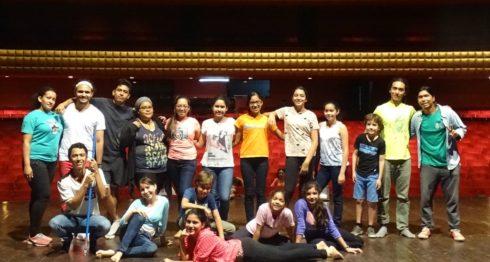 Academia Baluarte, se prepara para presentar su obra de teatro-danza, Hakuna Matata El Reino en Peligro. LAPRENSA/Cortesía