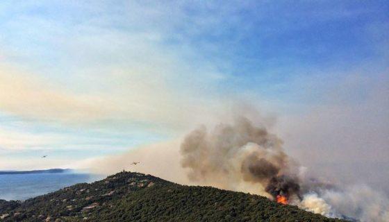 Francia, incendios forestales