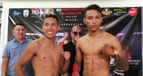 El boxeador José Martín Tecuapetla y el nicaragüense Cristofer Rosales se enfrentarán el 28 de julio en Managua. Foto: BAYRON SAAVEDRA/ LA PRENSA