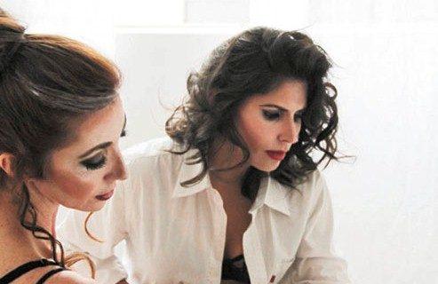En escena de Neva. La mexicana Amanda Polo Millán y los argentinos Lola Lagos y Matías Galimberti. LAPRENSA/CORTESÍA/ Teatro Justo Rufino Garay