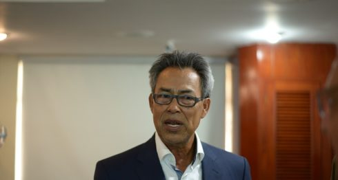 El ex grandes ligas nicaragüense Denis Martínez, trabaja para lograr que la franquicia Orientales continué en Grandada. LA PRENSA/Manuel Esquivel