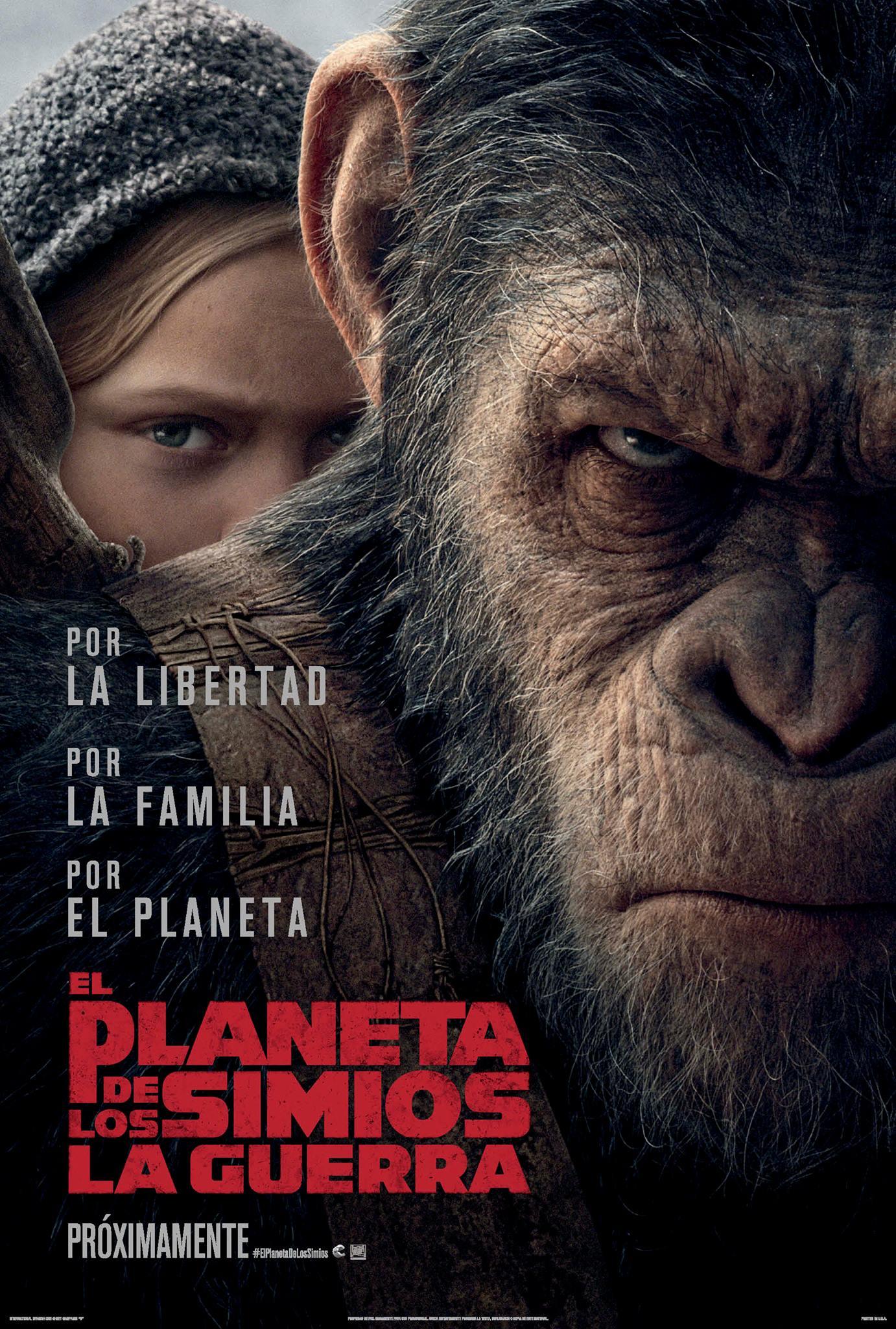 planeta de los simios, cartelera de cines, cines