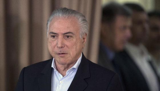Michel Temer, Brasil, corrupción