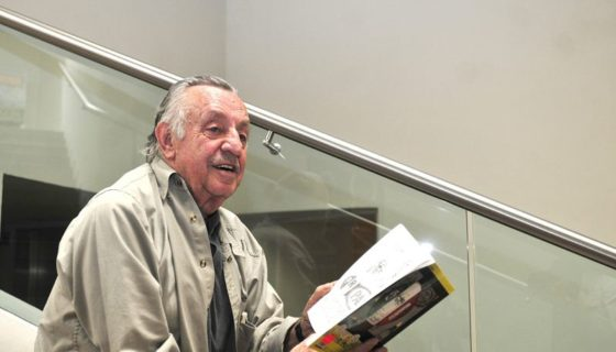 El caricaturista y escritor mexicano Eduardo del Río, conocido artísticamente como Rius. Foto de archivoel 6 de julio de 2011. LAPRENSA/EFE