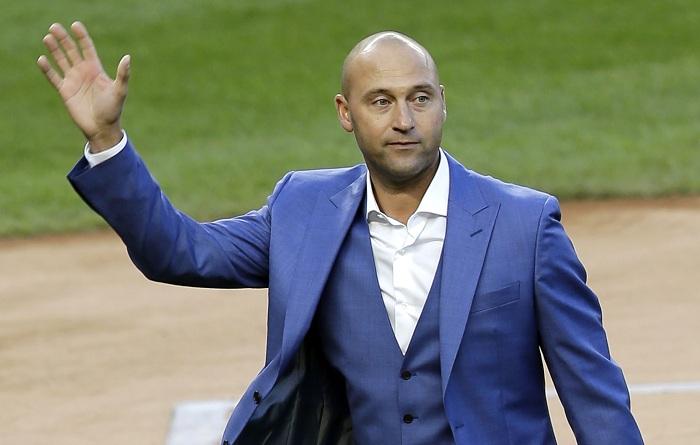 Derek Jeter está entre los nuevos dueños de los Marlins de Miamia. LA PRENSA/AP/Seth Wenig