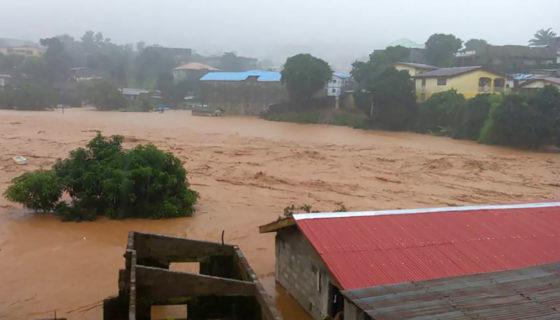 Sierra Leona, lluvias, inundaciones