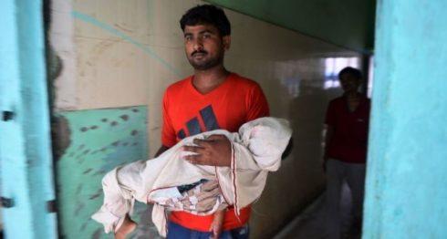 India, bebés