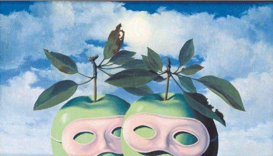 Magritte fue un pintor surrealista que hizo poesía con la imagen, de la que nacen objetos que crean su propia identidad, como el bombín o la manzana. LAPRENSA/EFE