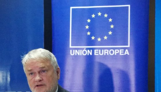Kenny Bell, embajador de la Unión Europea en Nicaragua.