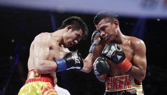 Román González enfrentará a Srisaket Sor Rungvisai el 9 de septiembre en un duelo de revancha. LA PRENSA/AP/Frank Franklin II