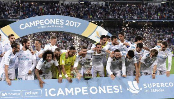 Real Madrid, Supercopa de España, Supercopa