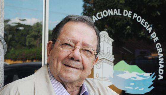 Poeta Francisco de Asis (Chichí)Fernandez. LA PRENSA/Manuel Esquivel