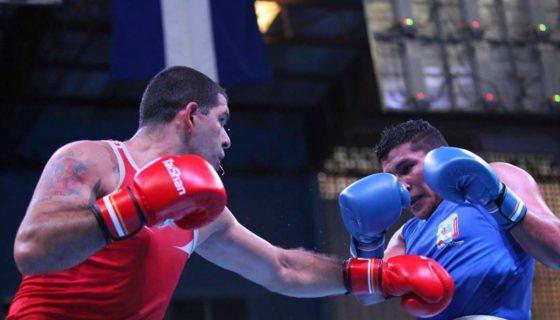 Jeffrey González (91 kilogramos) dio una de las mejores batallas para Nicaragua en el reciente Campeonato Continental de Honduras. Foto: LA PRENSA/ CORTESÍA