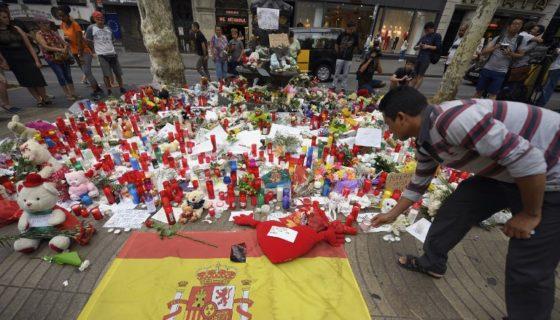 Atentado en Barcelona, Barcelona