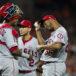 JC Ramírez vence a Orioles pero sale de juego por irritación en su antebrazo