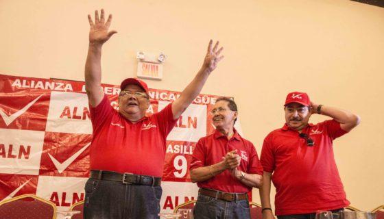 Eddy Gómez, ALN, candidato, Alcaldía de Managua