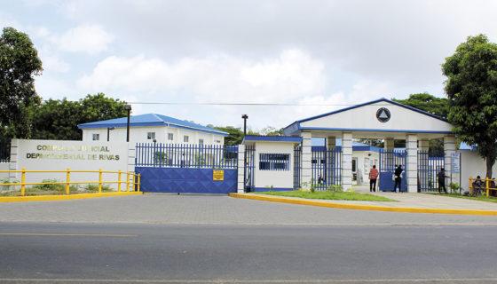 El Complejo Judicial de Rivas, donde laboraba la judicial Anabell Moreno Villalobos, destituida de su cargo este viernes. LAPRENSA/ R. Villarreal Bello