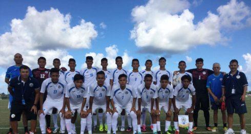 La Selección Nacional de Futbol Sub-15 se retira del torneo con dos victorias. Foto: Cortesía/ LA PRENSA