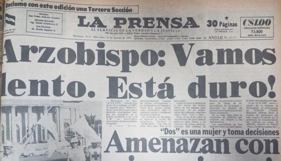 Toma del Palacio Nacional, Managua, Edén Pastora
