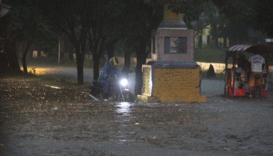 León, lluvias