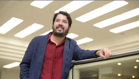 El escritor José Adiak Montoya, es considerado una de las nuevas voces de la literatura latinoamericana. LAPRENSA/Manuel Esquivel