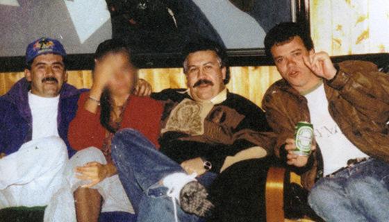 popeye, Pablo Escobar, Sicario de Pablo Escobar