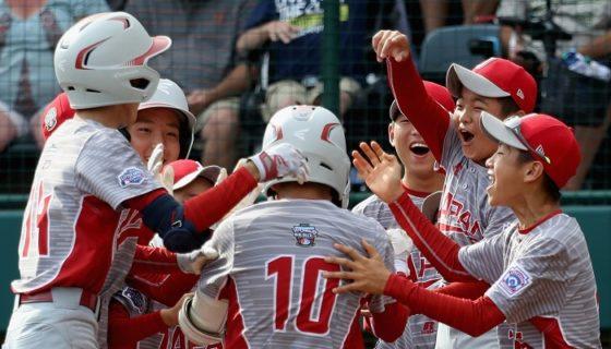 Japón mostró poder y noqueó al conjunto de Texas, para ganar otra vez la Serie Mundial de Pequeñas Ligas. LA PRENSA/Rob Carr/Getty Images/AFP