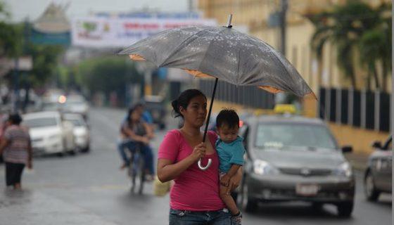 Lluvias y calor, tormenta tropical