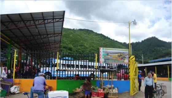 Jinotega, terminal de buses