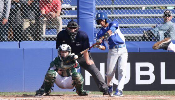 Esta es la segunda derrota que sufre la tropa nicaragüense en la Copa Mundial de Beisbol Sub-18 que se juega en Thunder Bay, Canadá. LA PRENSA/ WBSC/ Cortesía