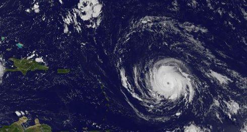 Huracán Irma, lluvias, Irma