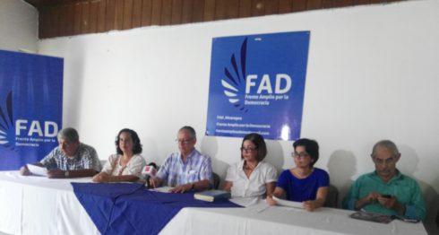 FAD, reforma electoral, voto múltiple, fraude