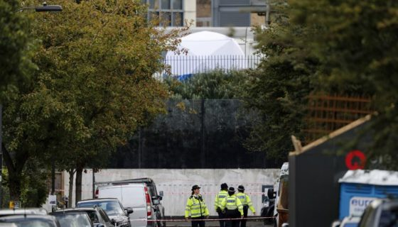 Ataque en Londres, Londres
