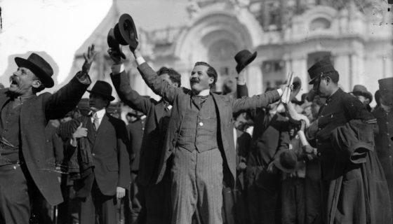 El 18 de febrero de 1913, Solón Argüello pidió armas al aún presidente Francisco I. Madero para combatir a los generales del Ejército que llevaron a cabo el golpe de Estado. (Fotografía del Sistema Nacional de Fototecas del Instituto Nacional de Antropología e Historia de México). LA PRENSA/Cortesía de la editora Beatriz Gutiérrez Mueller).